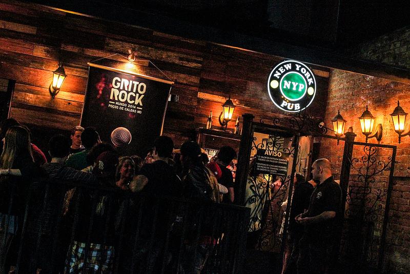 Pelo quinto ano consecutivo o Grito Rock Poços de Caldas acontece no New York Pub